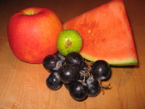 Examples of Pitta-pacifying fruits