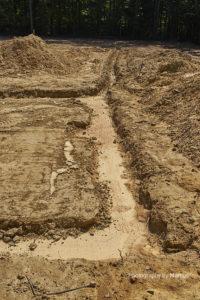 Preliminary Crawlspace Drainage