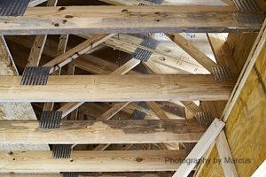 Garage truss detail
