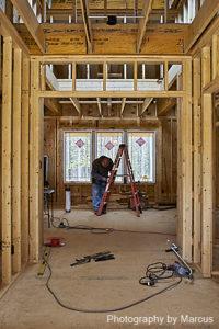 Foyer Electrical Work