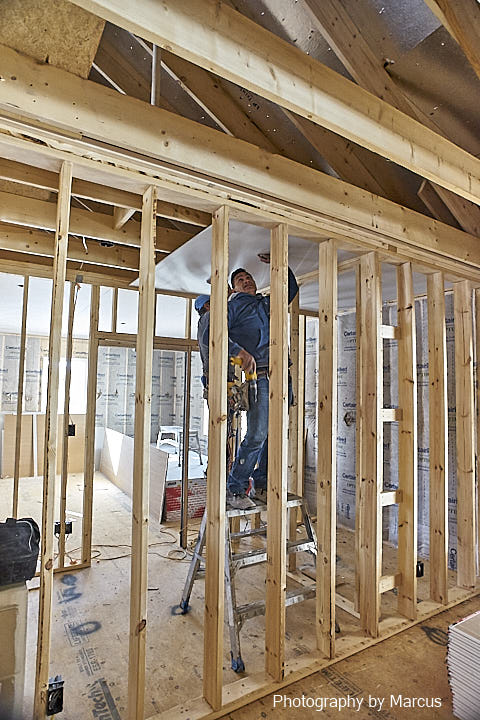Installing Cedar Closet Ceiling