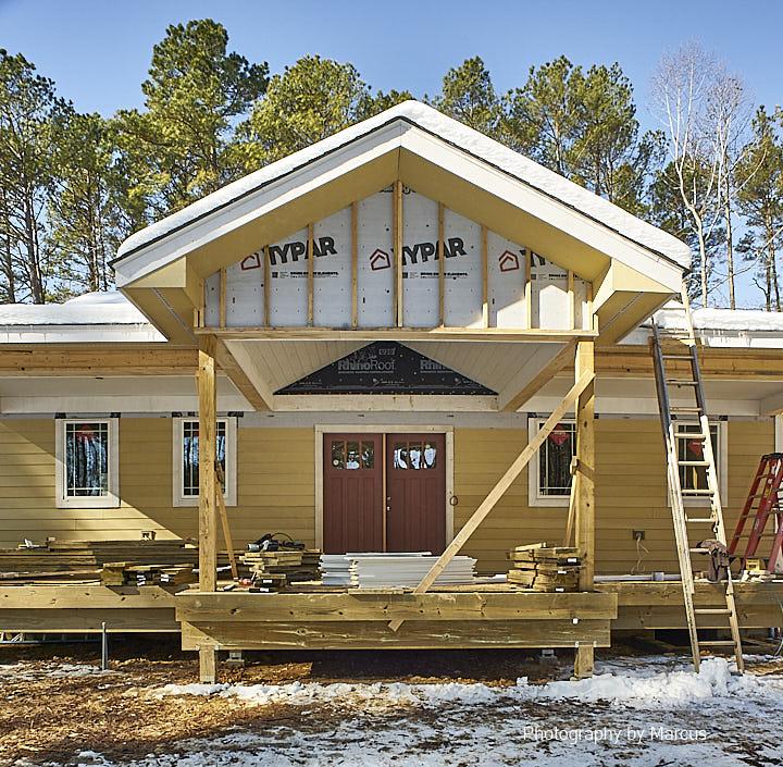 Front Porch Gable