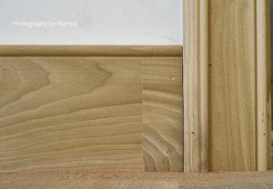 Baseboard-Door Trim Junction