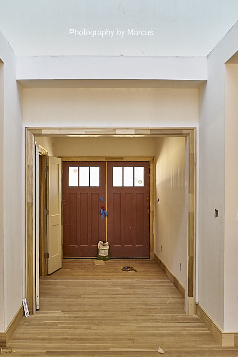 Cased Openning to Foyer