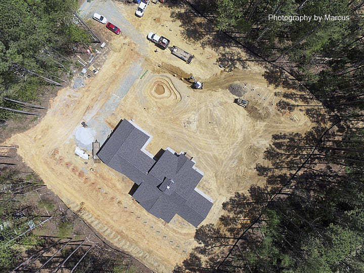 Eastside Drainage Aerial View April 21