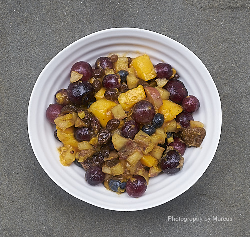Lightly Stewed Fruit Makes a Healthful Breakfast for Most People