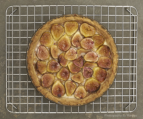 Fig-Almond Pie